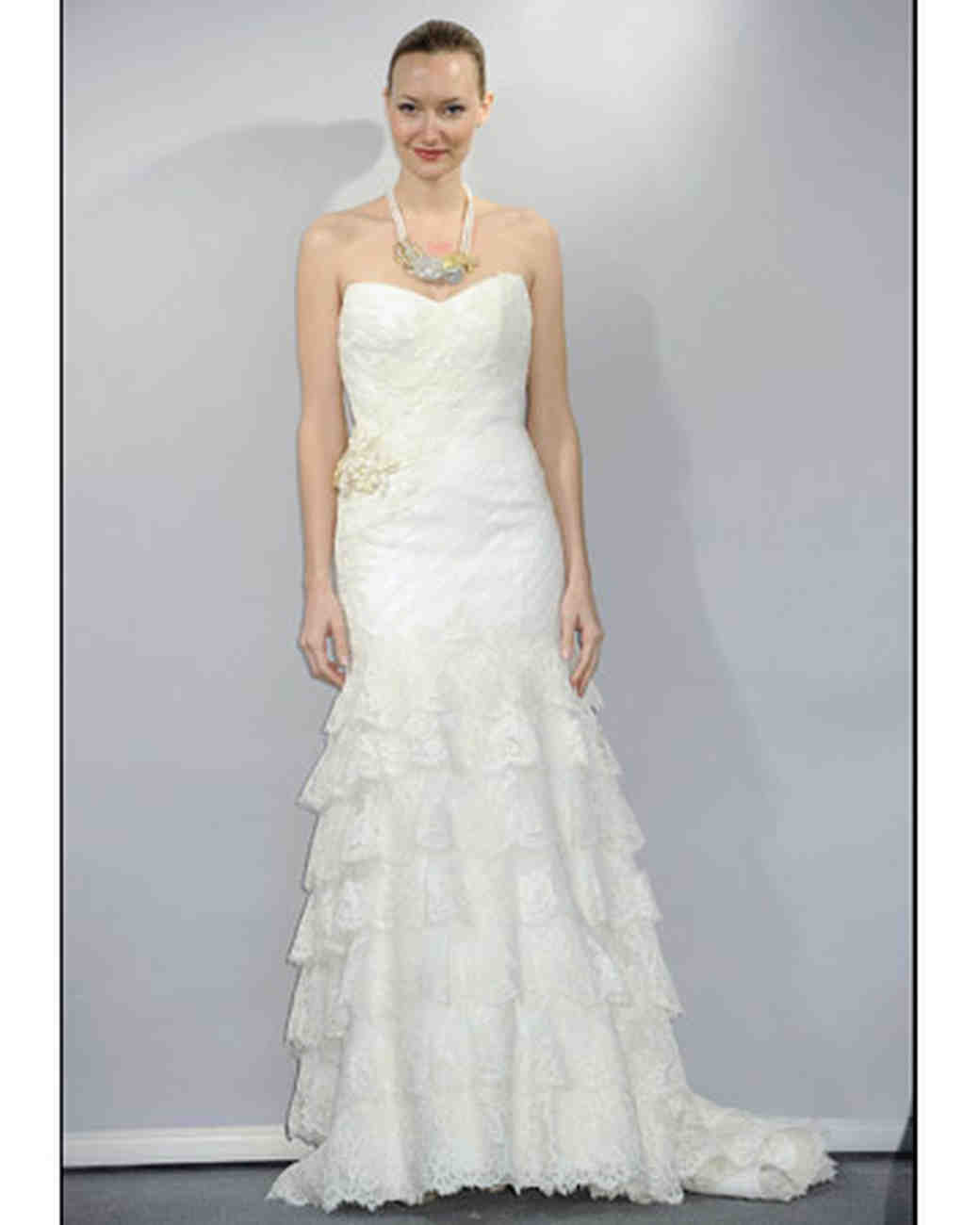 Modern Lace Wedding Gowns 2014 Model - Top Wedding Gowns ...