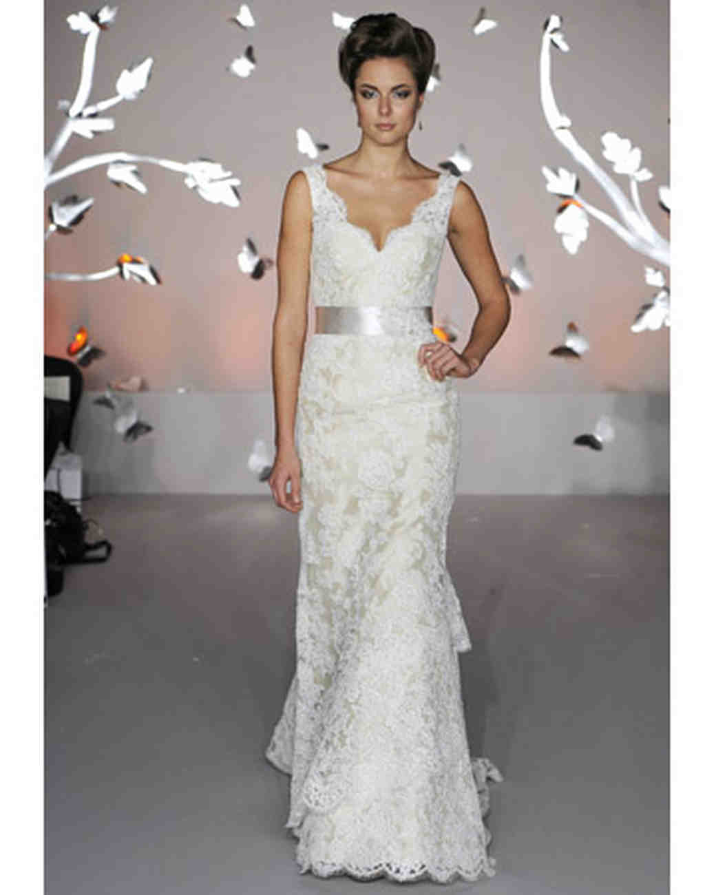 Modern lace wedding dresses from spring 2012 bridal fashion week alvina valenta junglespirit Gallery