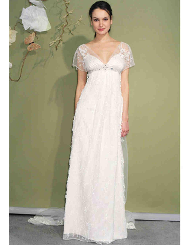 Empire Style Wedding Dress