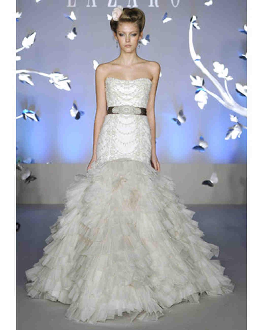 Lazaro, Spring 2012 Collection | Martha Stewart Weddings