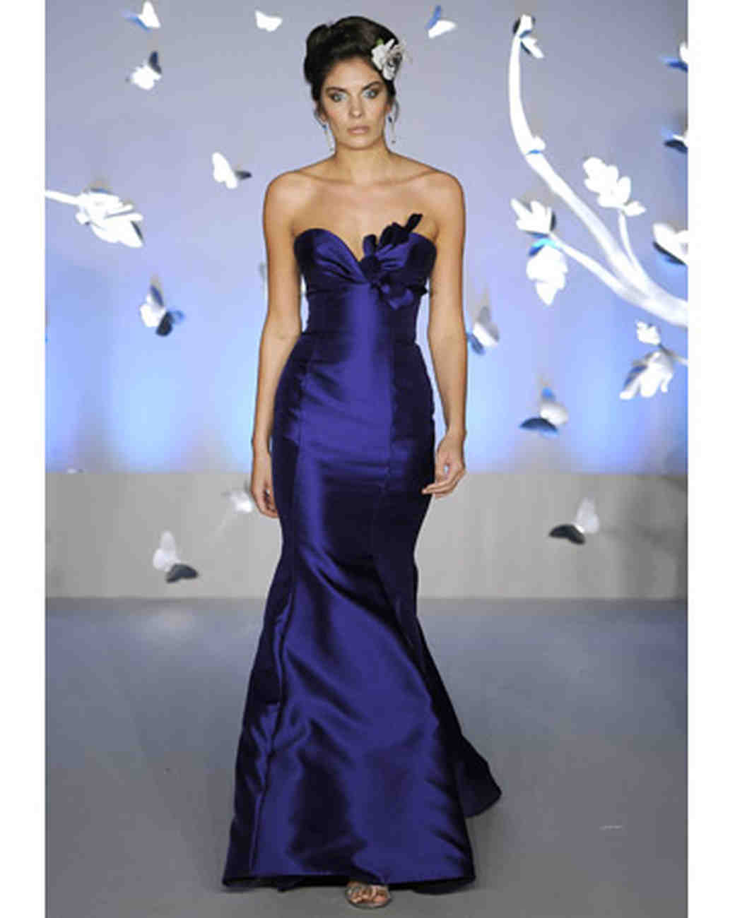 Jewel toned bridesmaid dresses martha stewart weddings ombrellifo Image collections