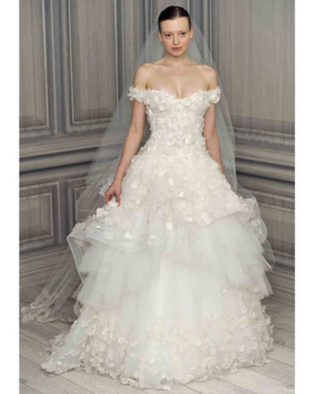 Monique Lhuillier, Spring 2012 Collection | Martha Stewart Weddings