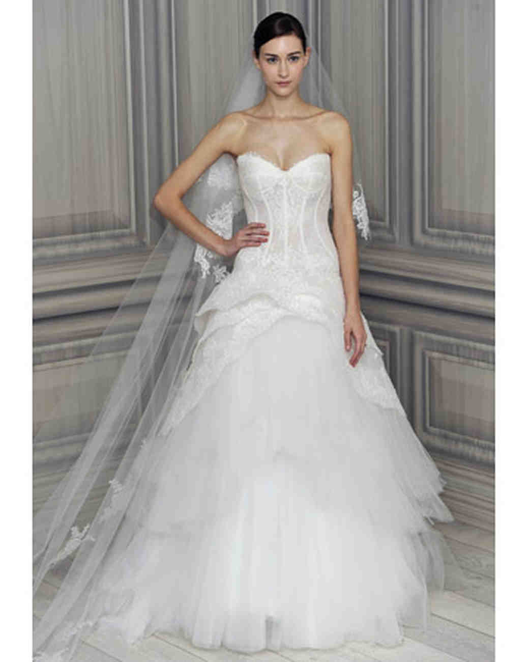 Wedding Gown Trends: Monique Lhuillier, Spring 2012 Collection