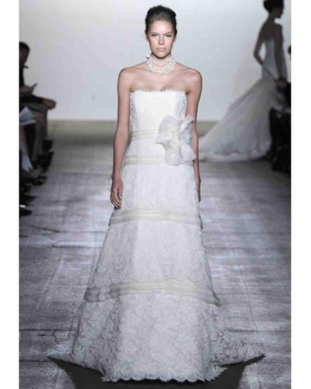 2012 Wedding Dresses with Straps