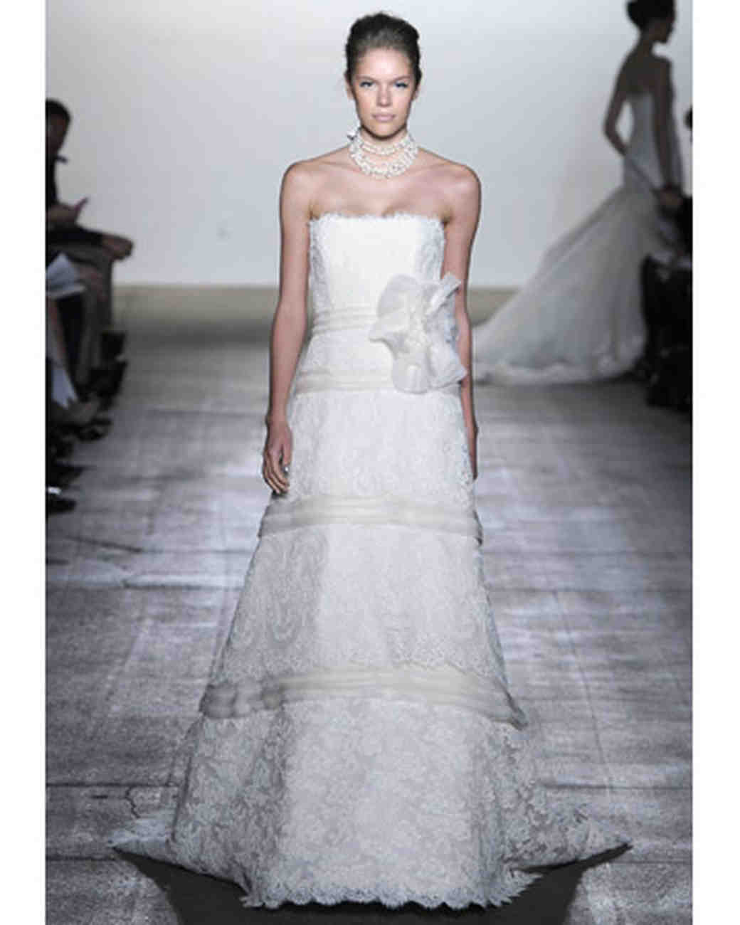 e1ba3ded26c Modern Lace Wedding Dresses from Spring 2012 Bridal Fashion Week ...