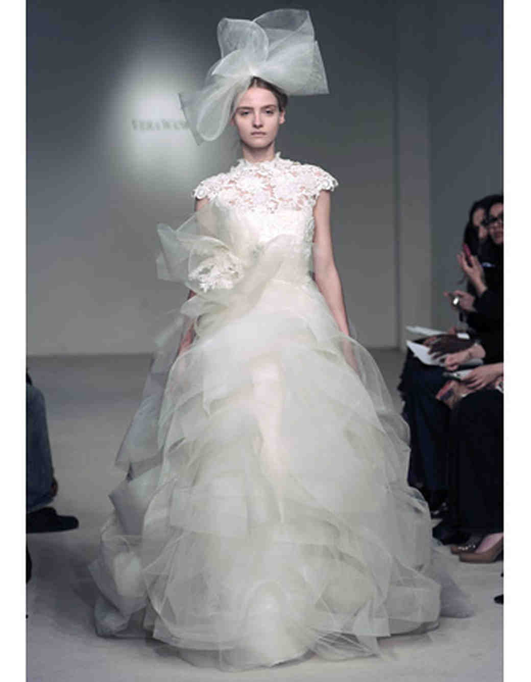 275d77c385fb7 Vera Wang, Spring 2012 Collection | Martha Stewart Weddings