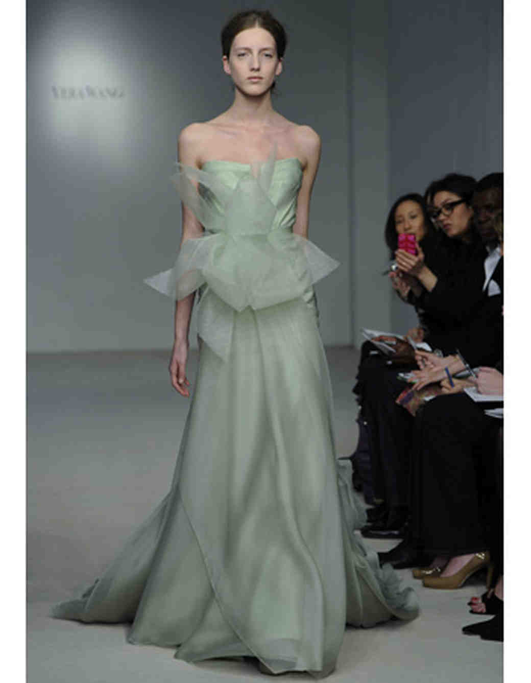 Colorful wedding dresses from spring 2012 bridal fashion week vera wang junglespirit Images