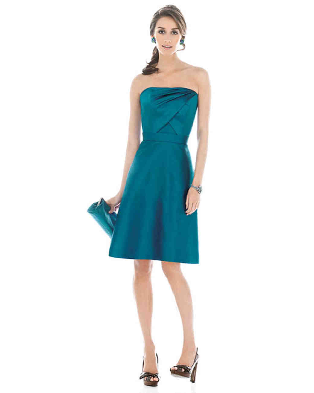 Jewel toned bridesmaid dresses martha stewart weddings ombrellifo Choice Image