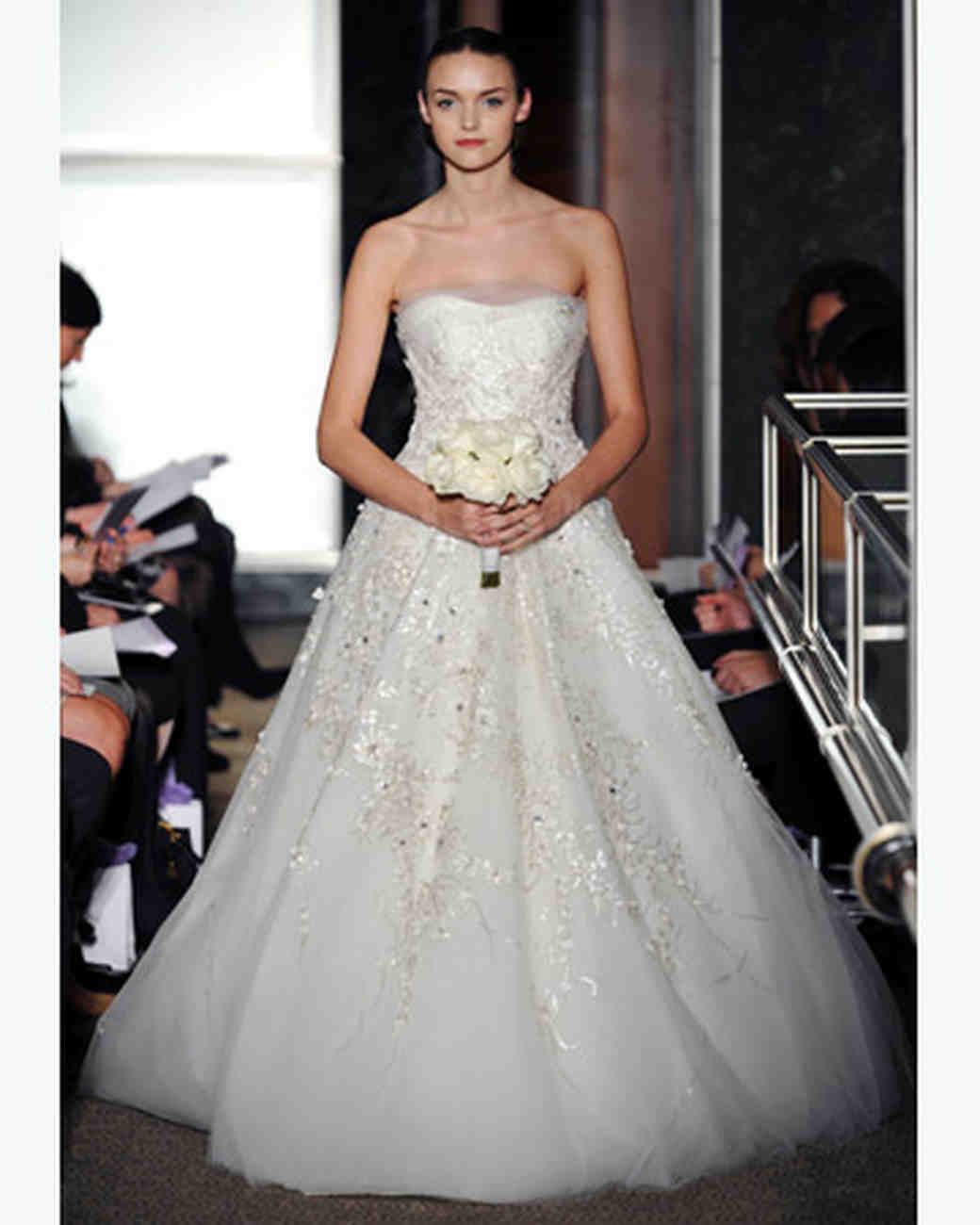 carolina herrera 2010 collection martha stewart weddings