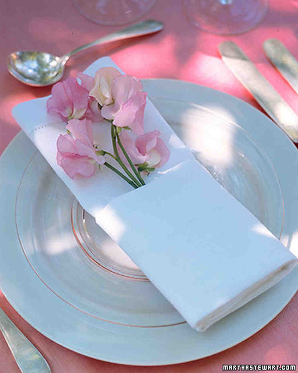 Personalized Napkin Ideas Martha Stewart Weddings