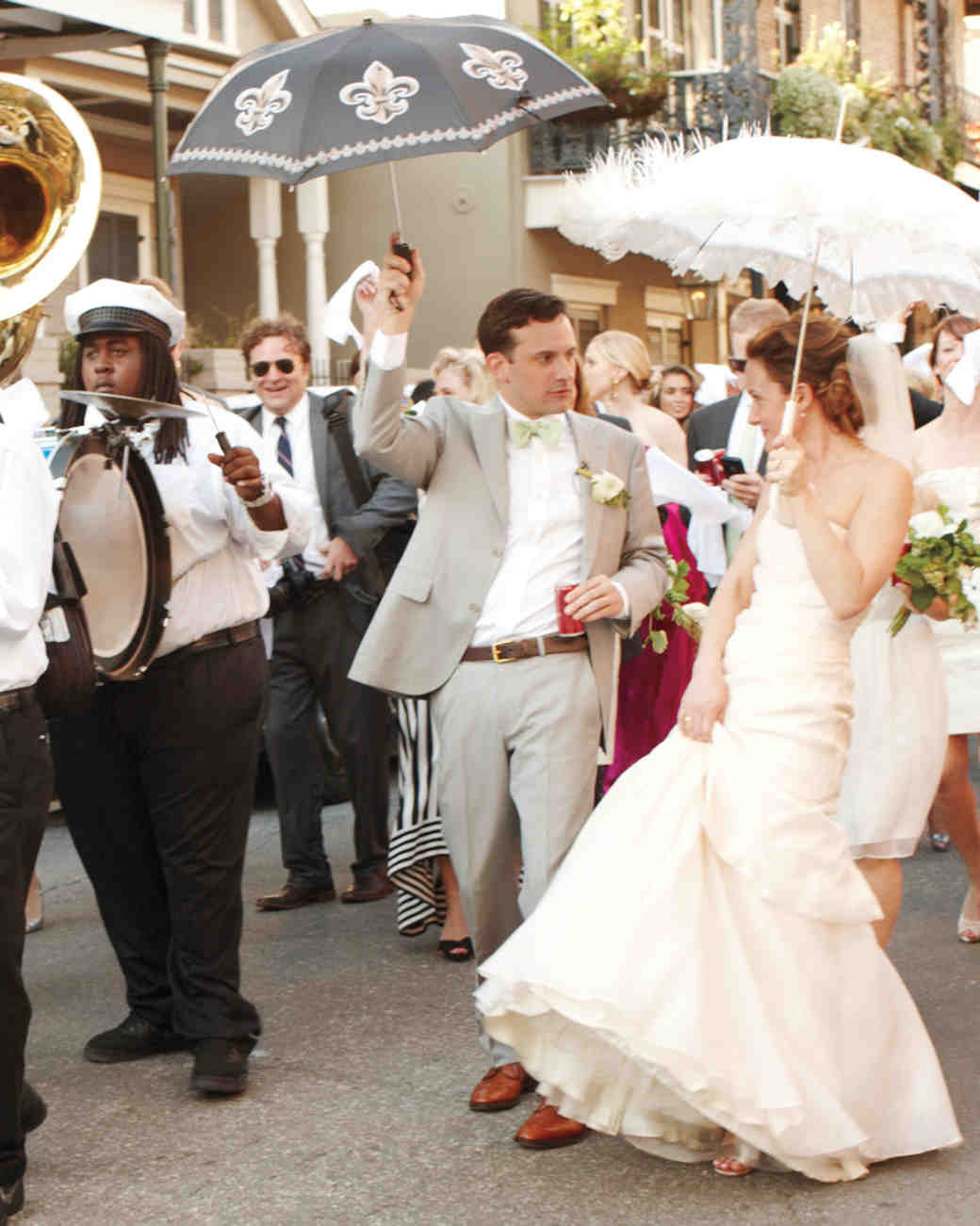 5 Bands That Will Kick Off Your Wedding Reception With a Parade ...