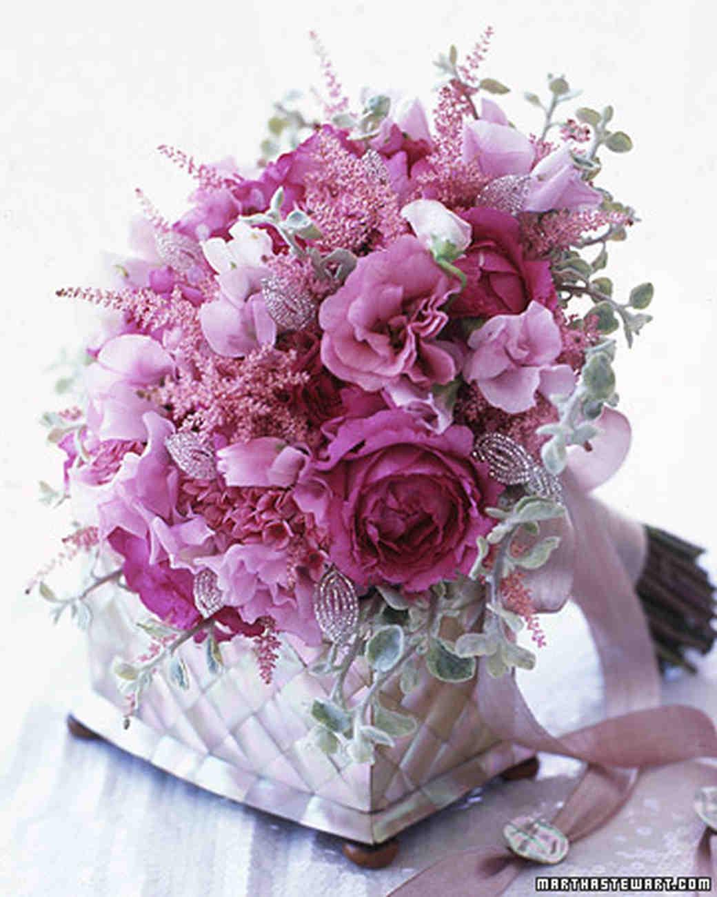 Pink wedding flowers martha stewart weddings mightylinksfo