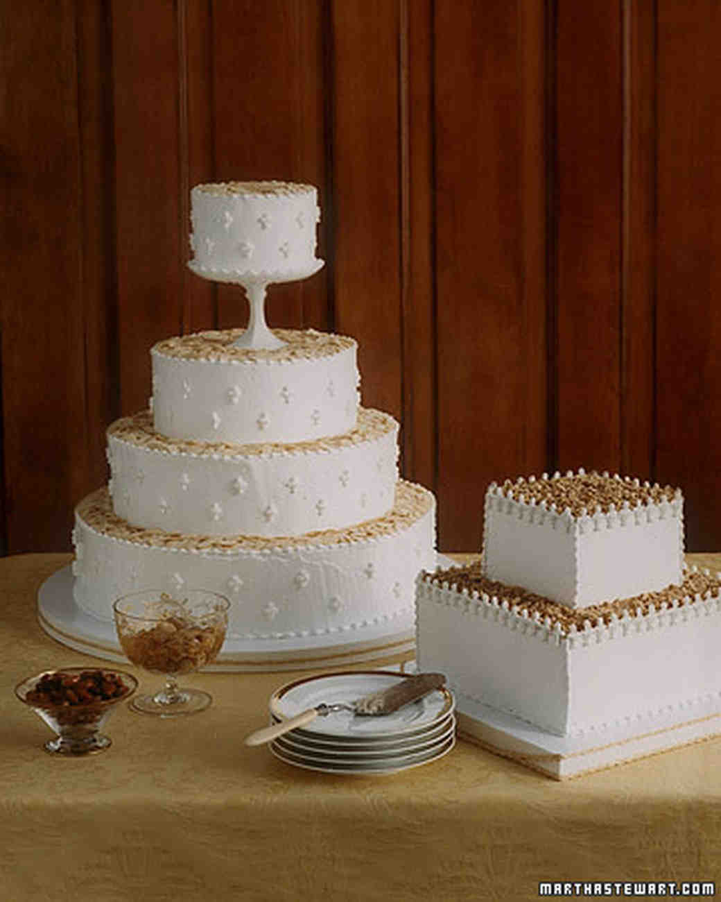 Old Time Favorites Lady Baltimore Wedding Cake