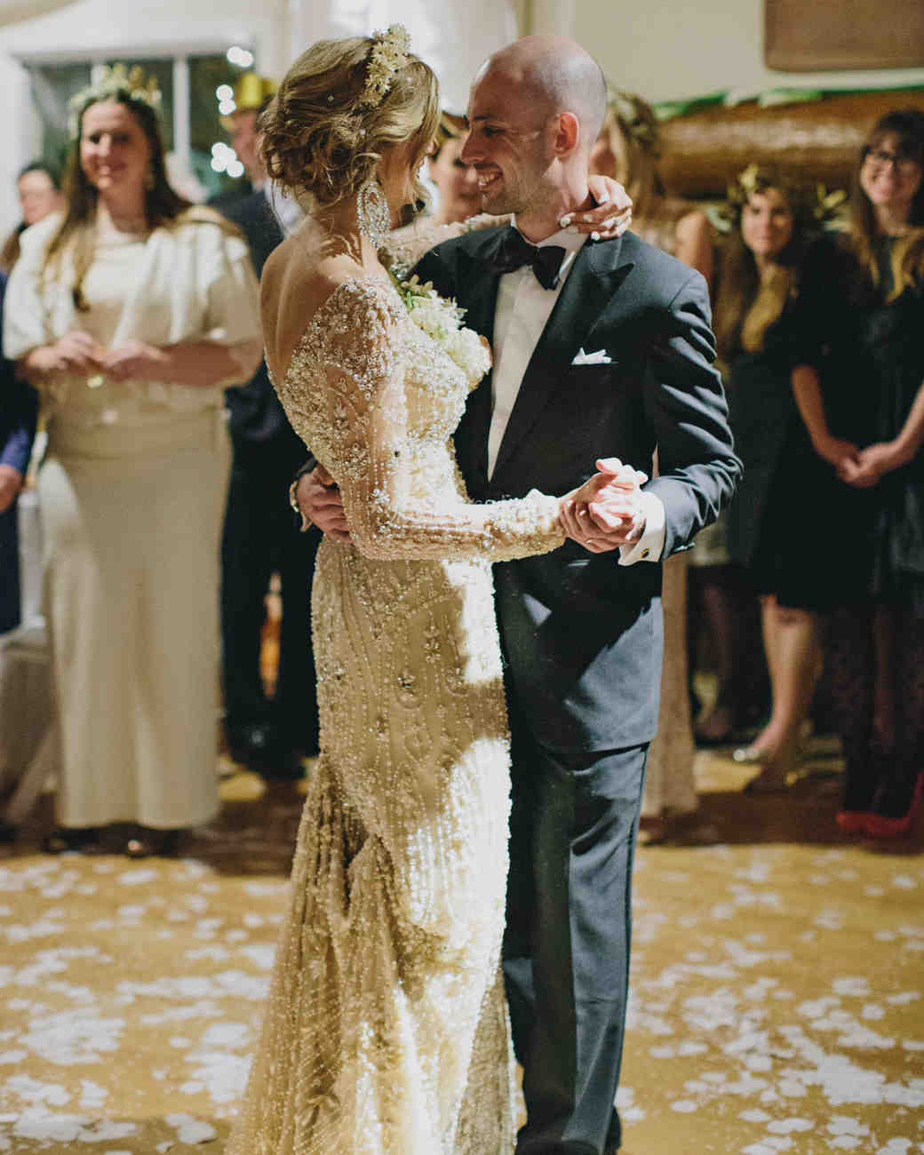 Fun And Festive Ideas For A New Year S Eve Wedding Martha Weddings