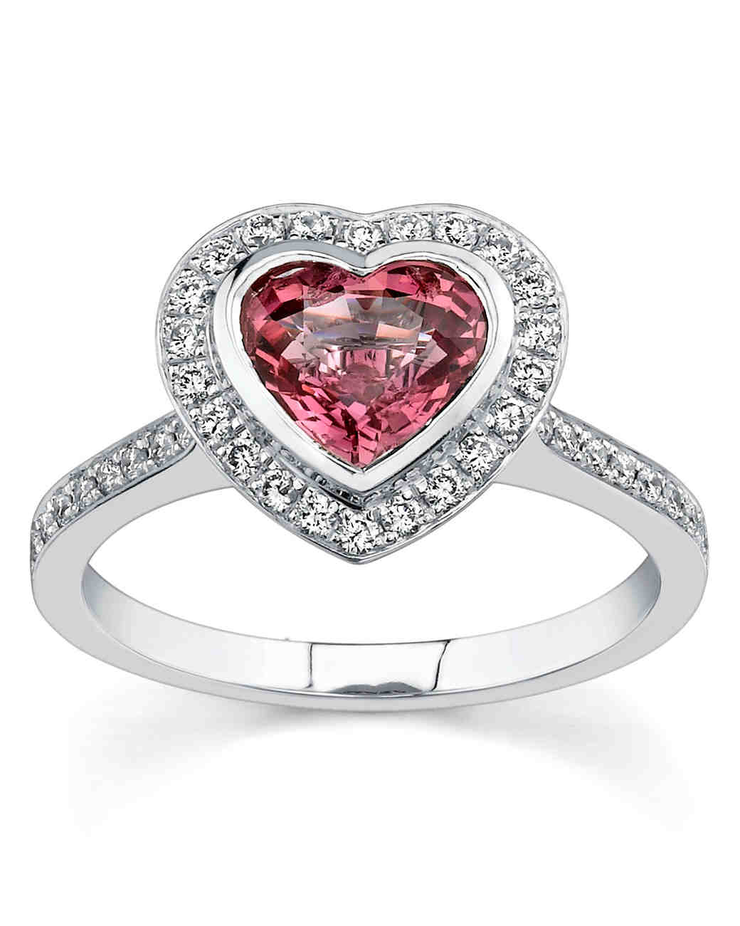 ring sapphire claddagh com wedding products rings cut promise pink silver heart niam