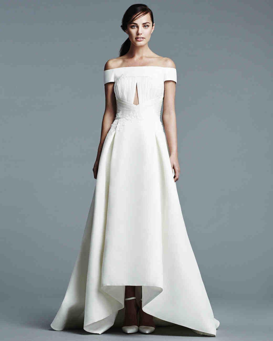 Sabrina style dress