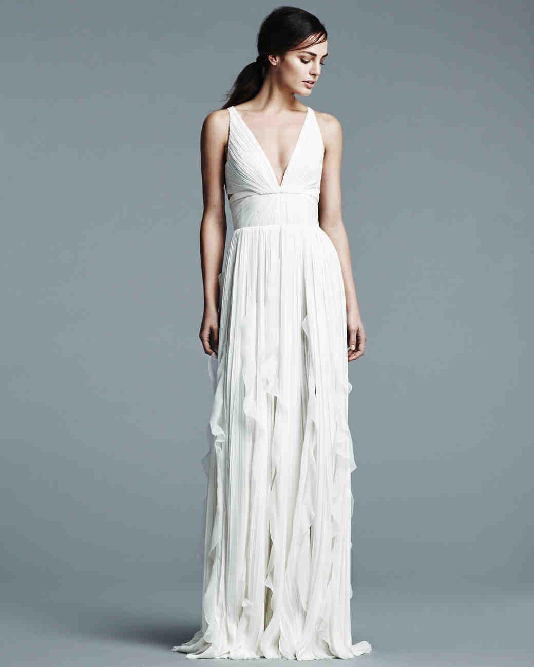 J. Mendel Spring 2017 Wedding Dress Collection | Martha Stewart Weddings
