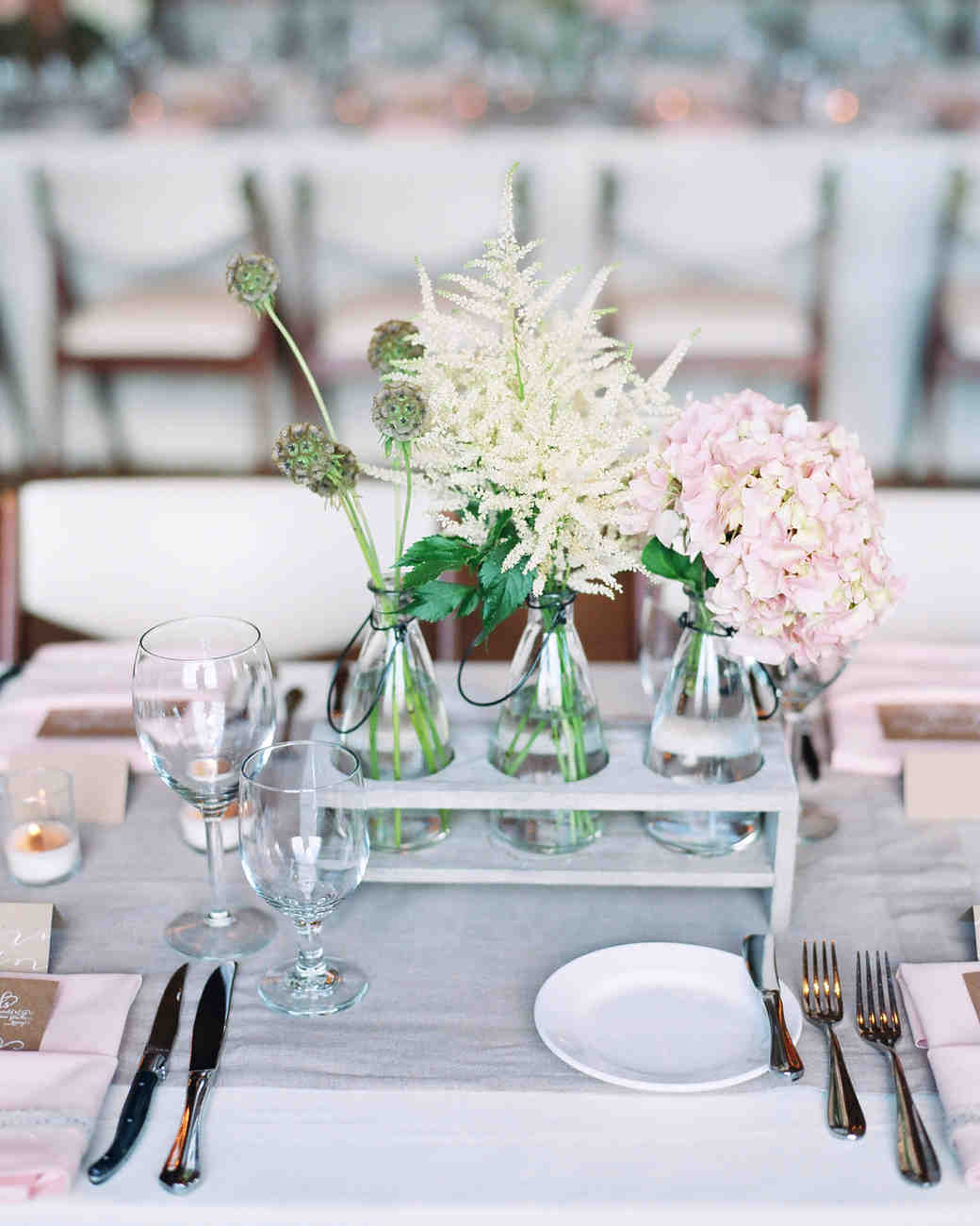 Outdoorsy Centerpieces
