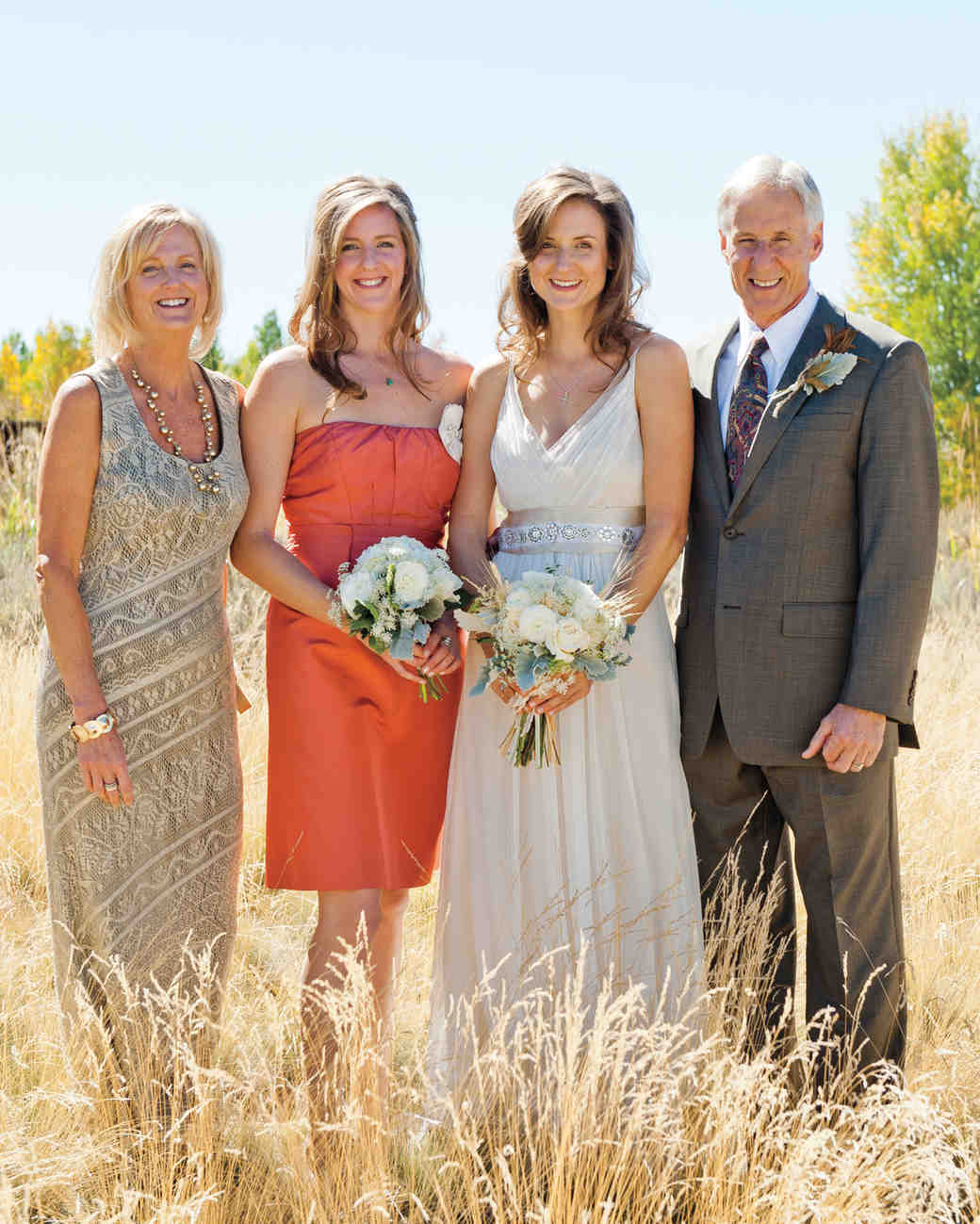 Cheap Wedding Dresses Buffalo Ny: A Vintage, Rustic Autumn Wedding Outdoors In Wyoming