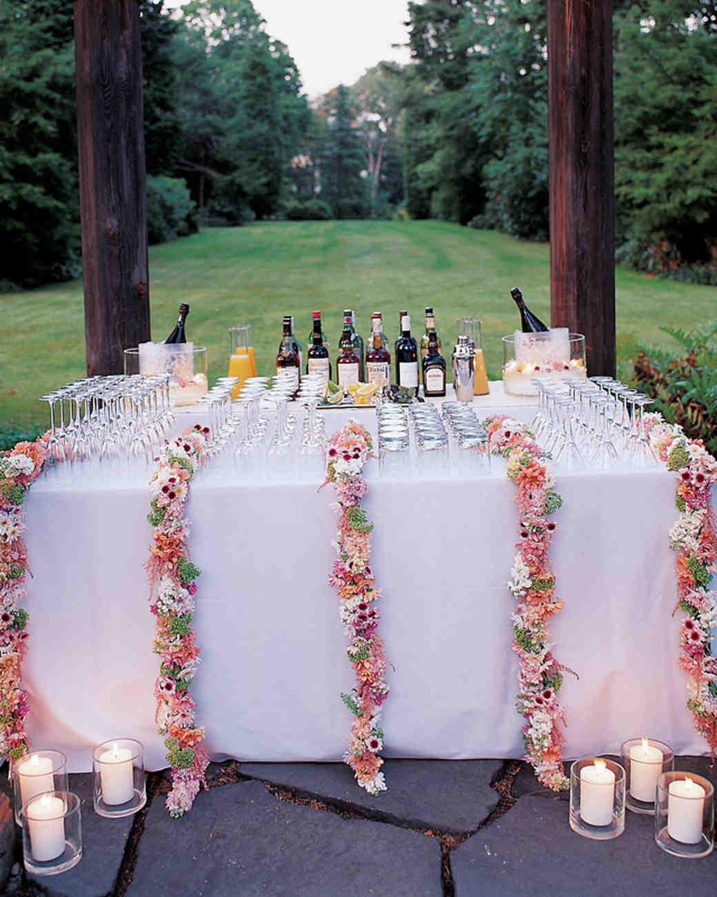 Wedding Bar Table