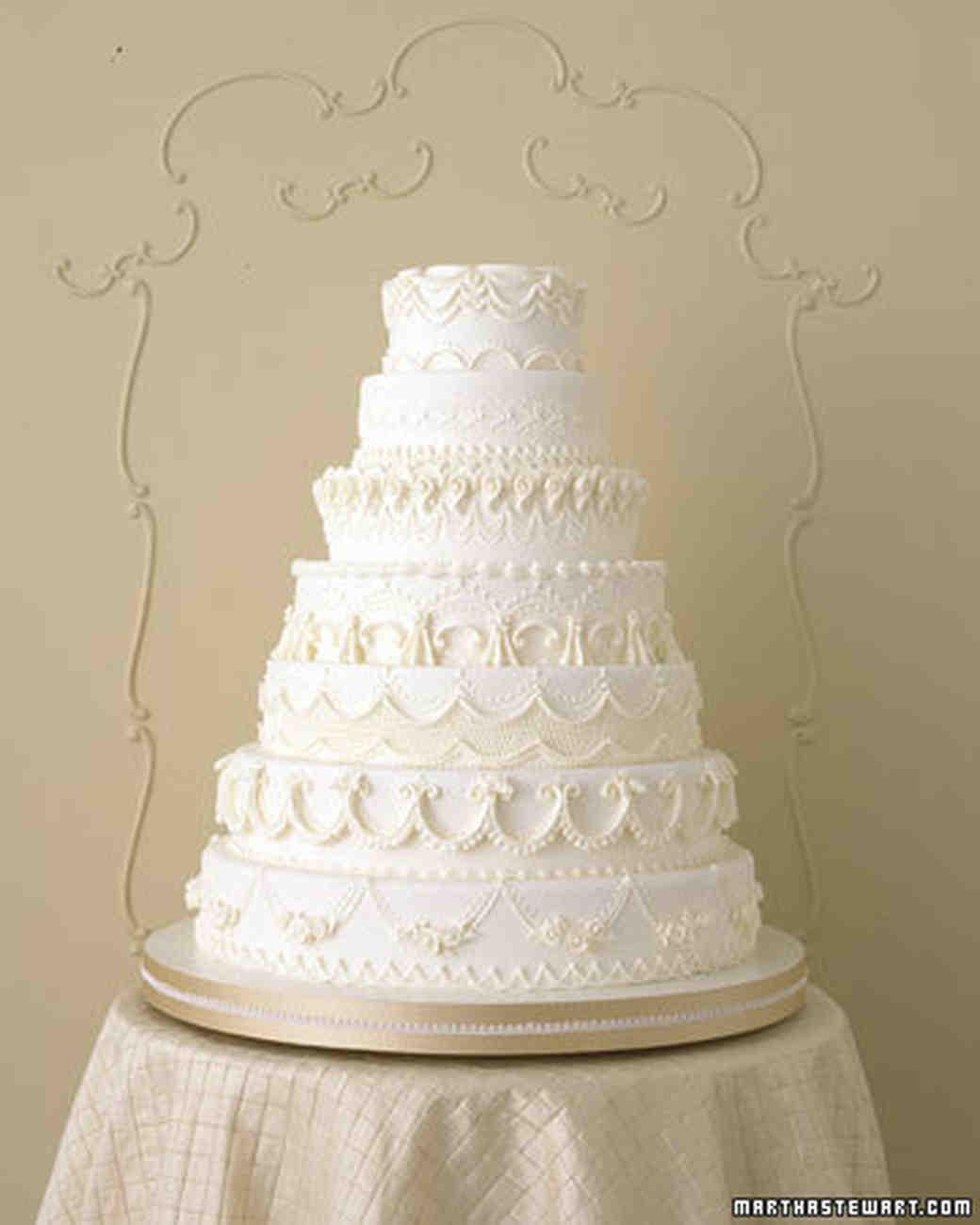 Wedding cake piping recipe