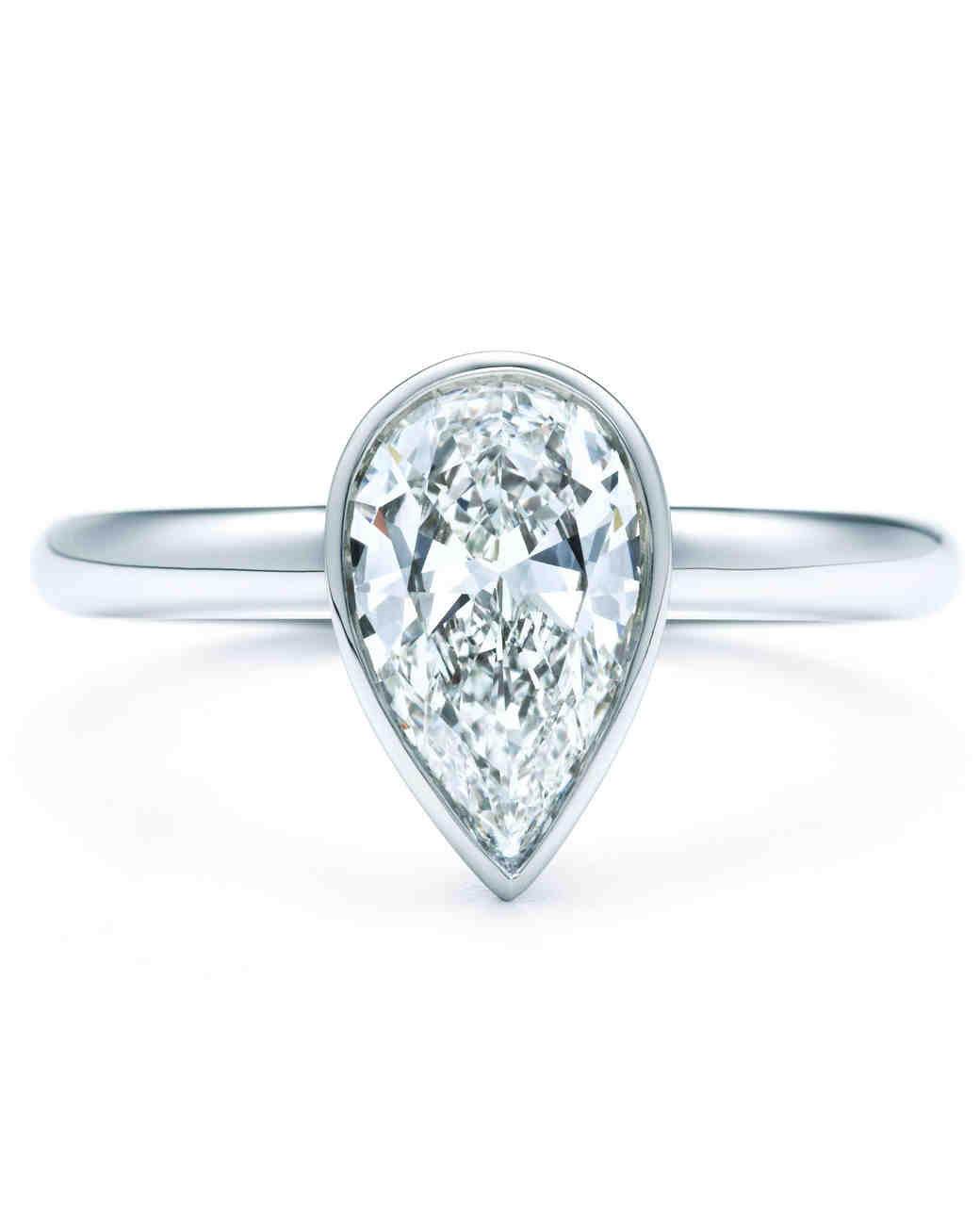over rings ring wedding sterling silver p gold shaped white plated zirconia pear cubic diamond