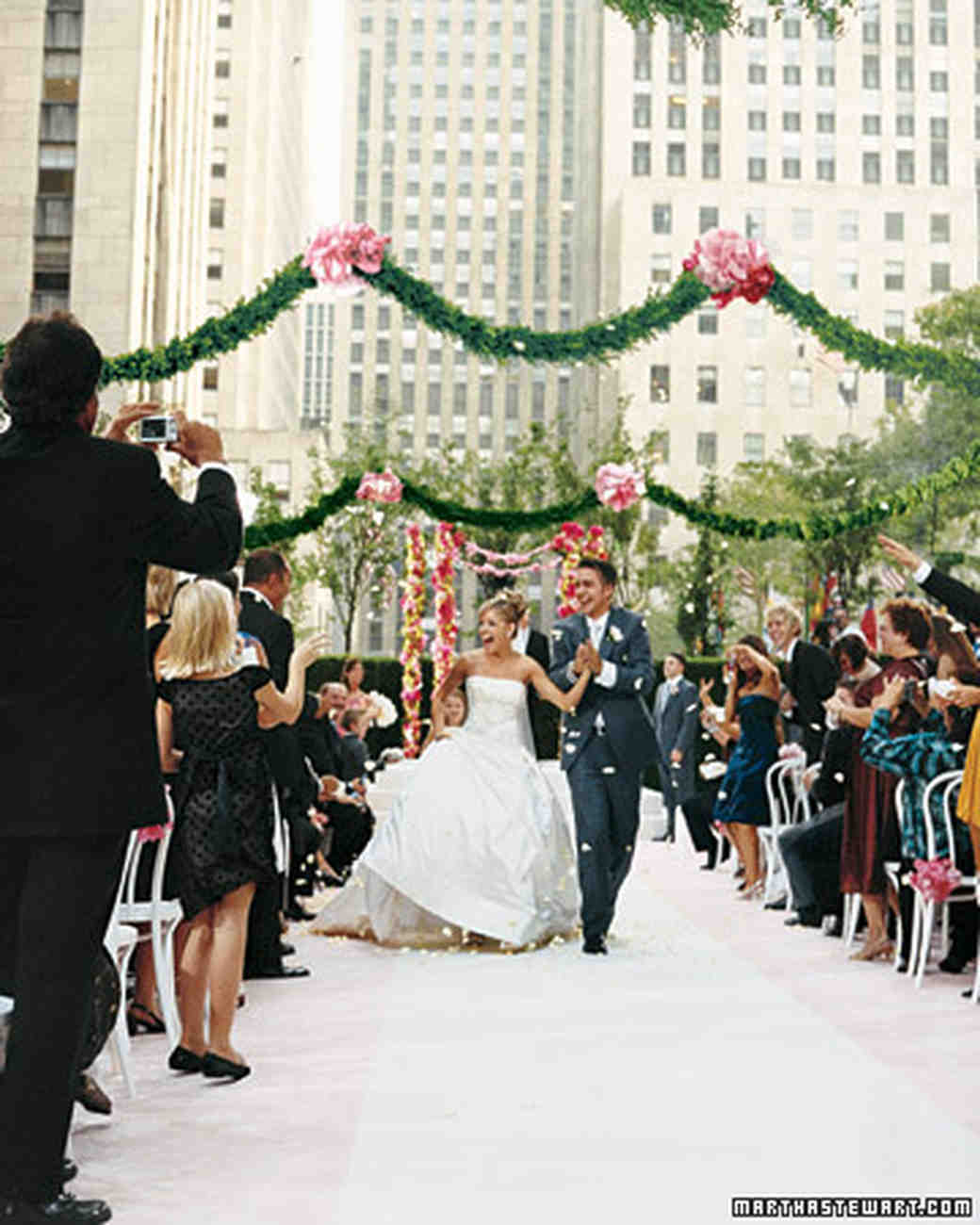 c931ab25ec1a A Formal Tiffany-Blue and Pink Wedding in New York City