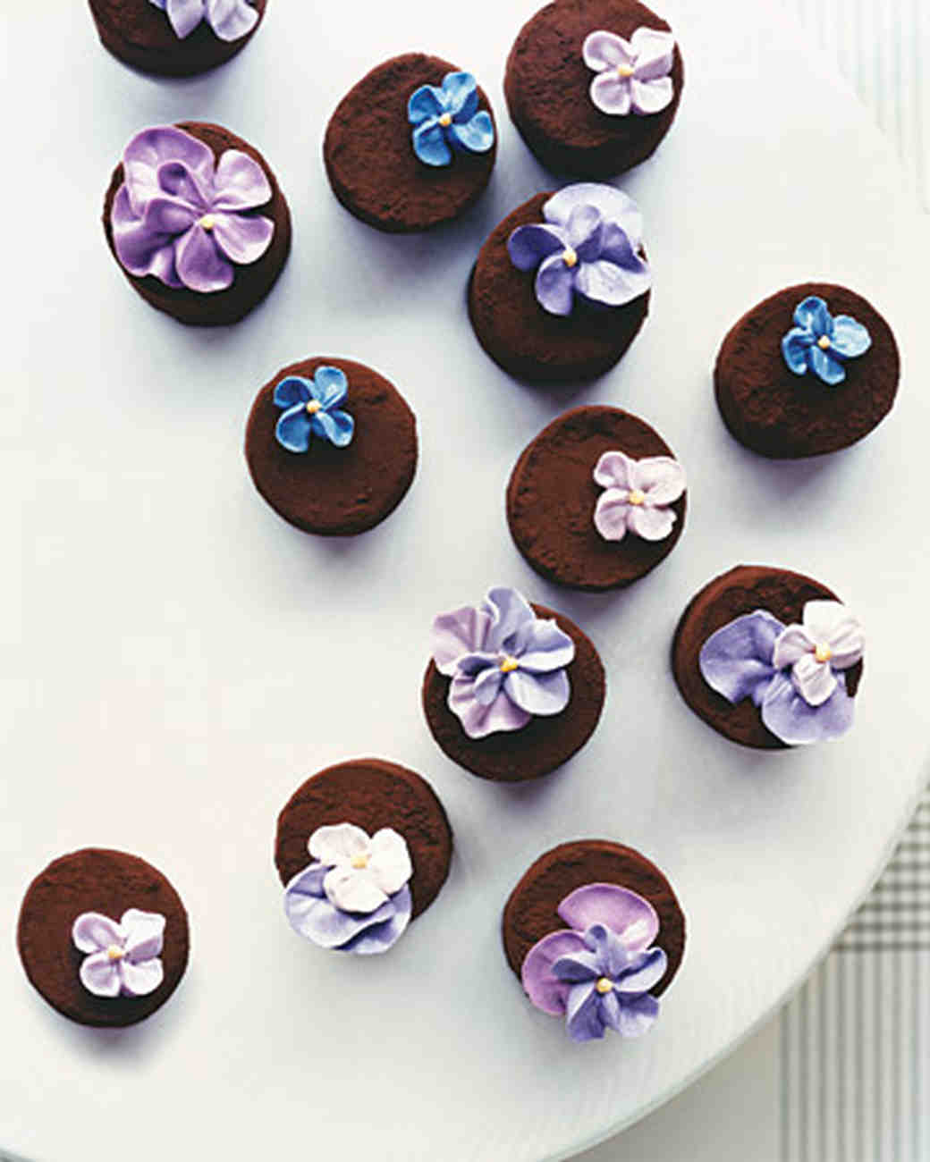 floral truffles