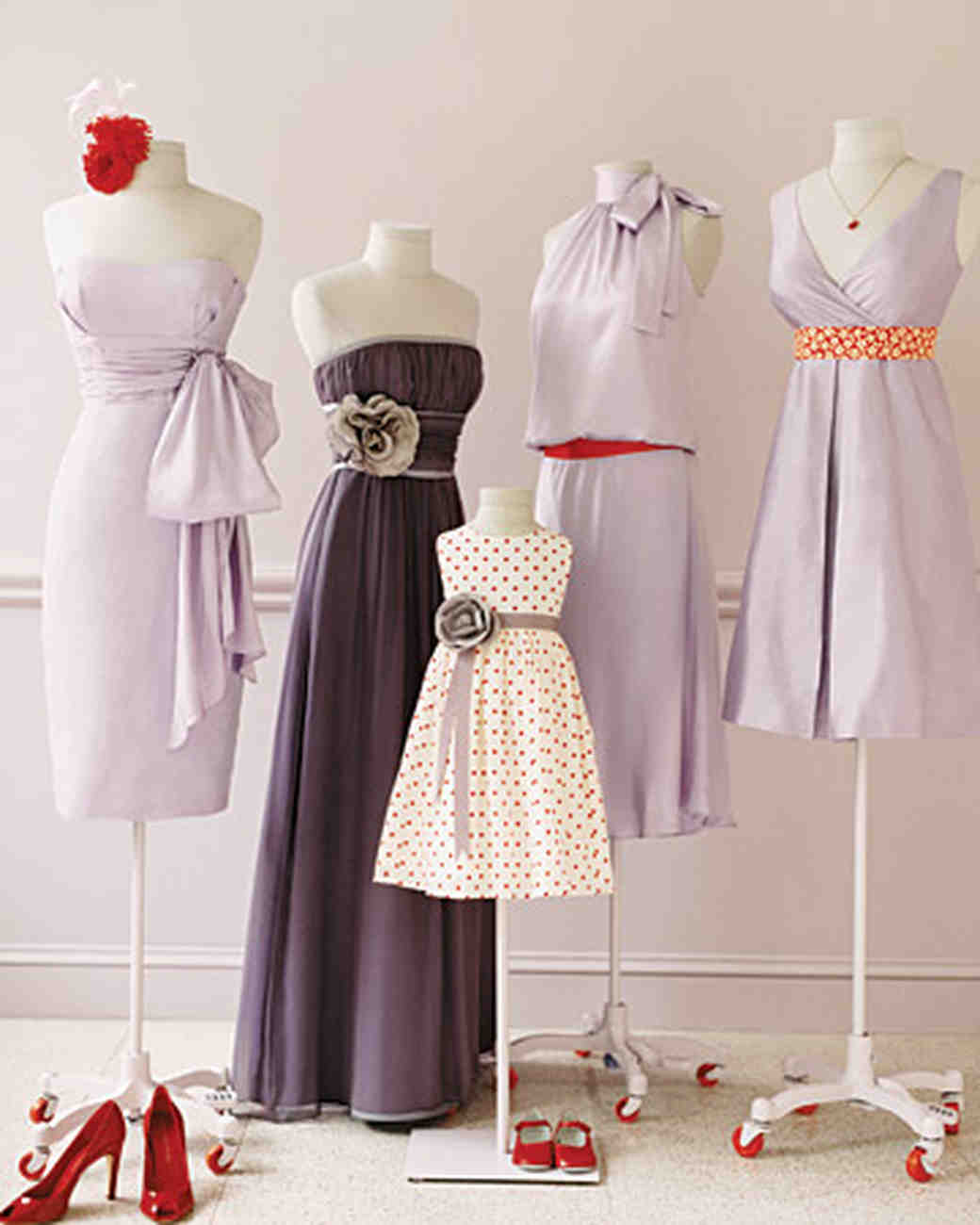 Wedding colors lavender and red martha stewart weddings ombrellifo Images