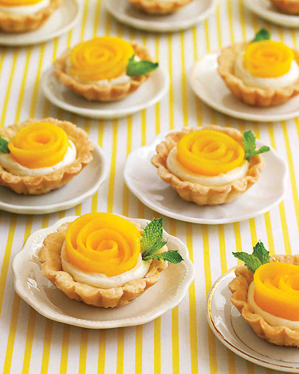 How to fill tartlets 8