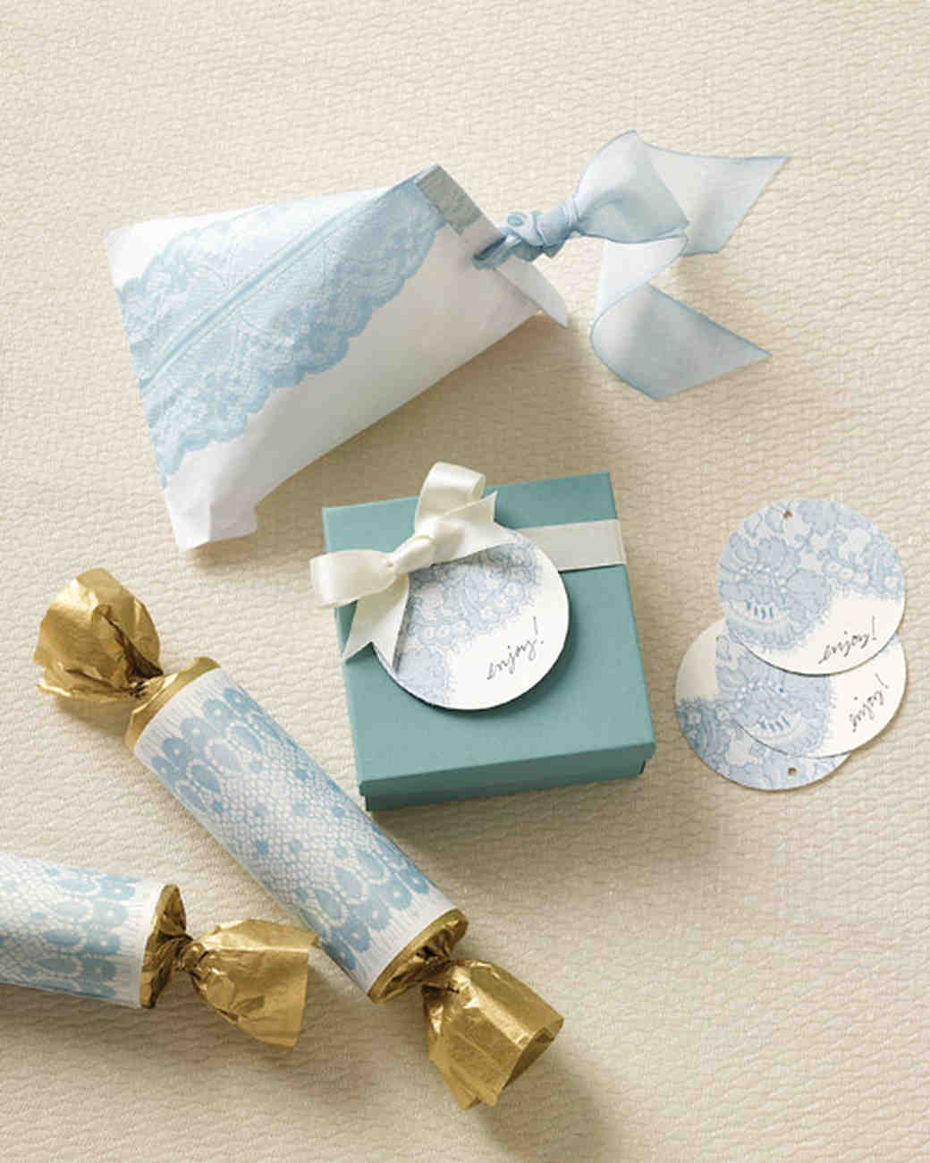 Favor Packaging Clip Art and Templates | Martha Stewart Weddings