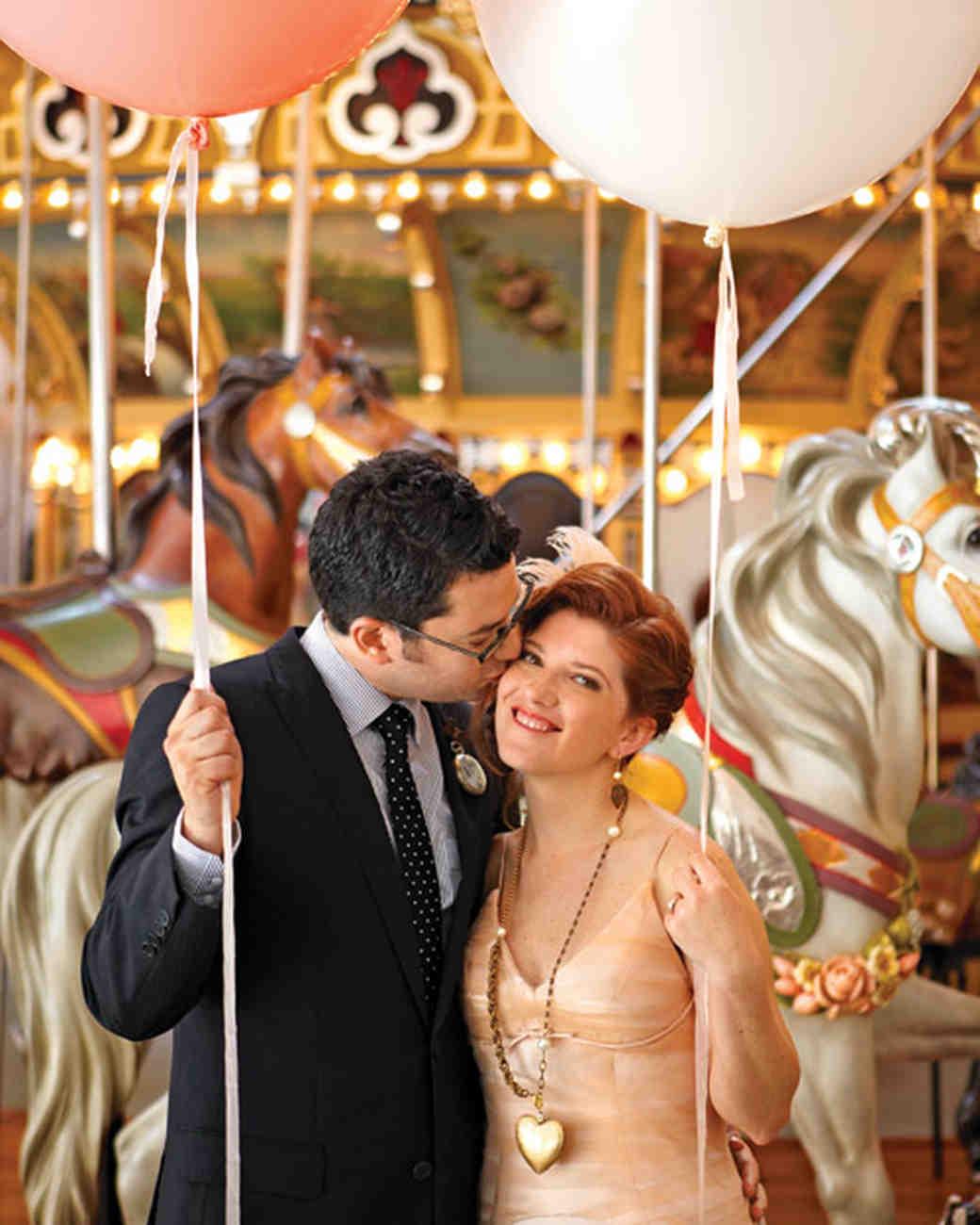 A Vibrant Whimsical Vintage Wedding In Brooklyn New York