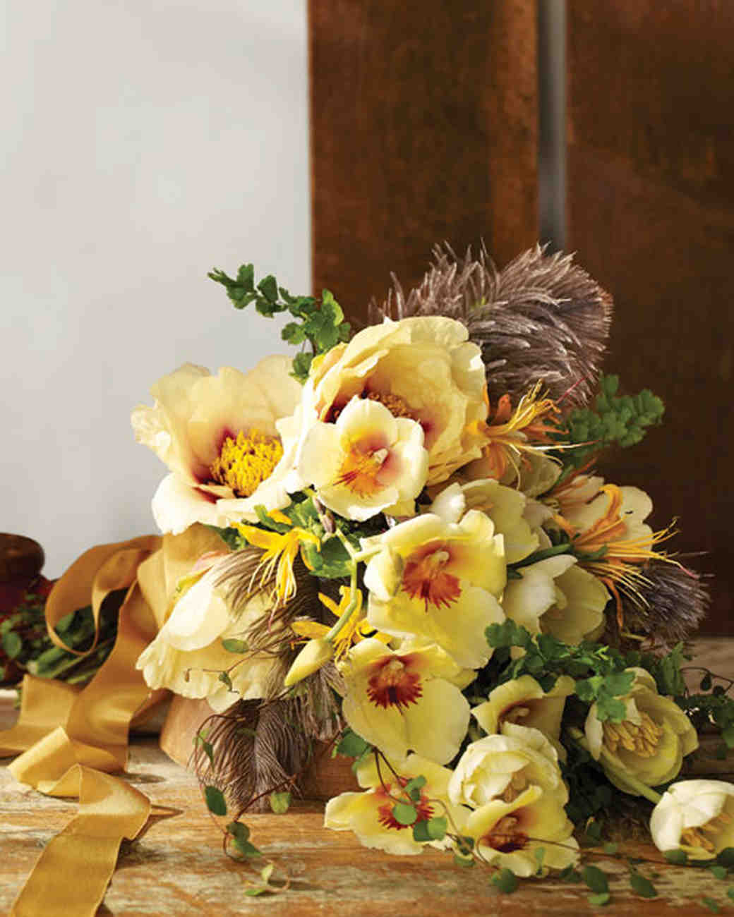 Personalized Wedding Bouquets Martha Stewart Weddings
