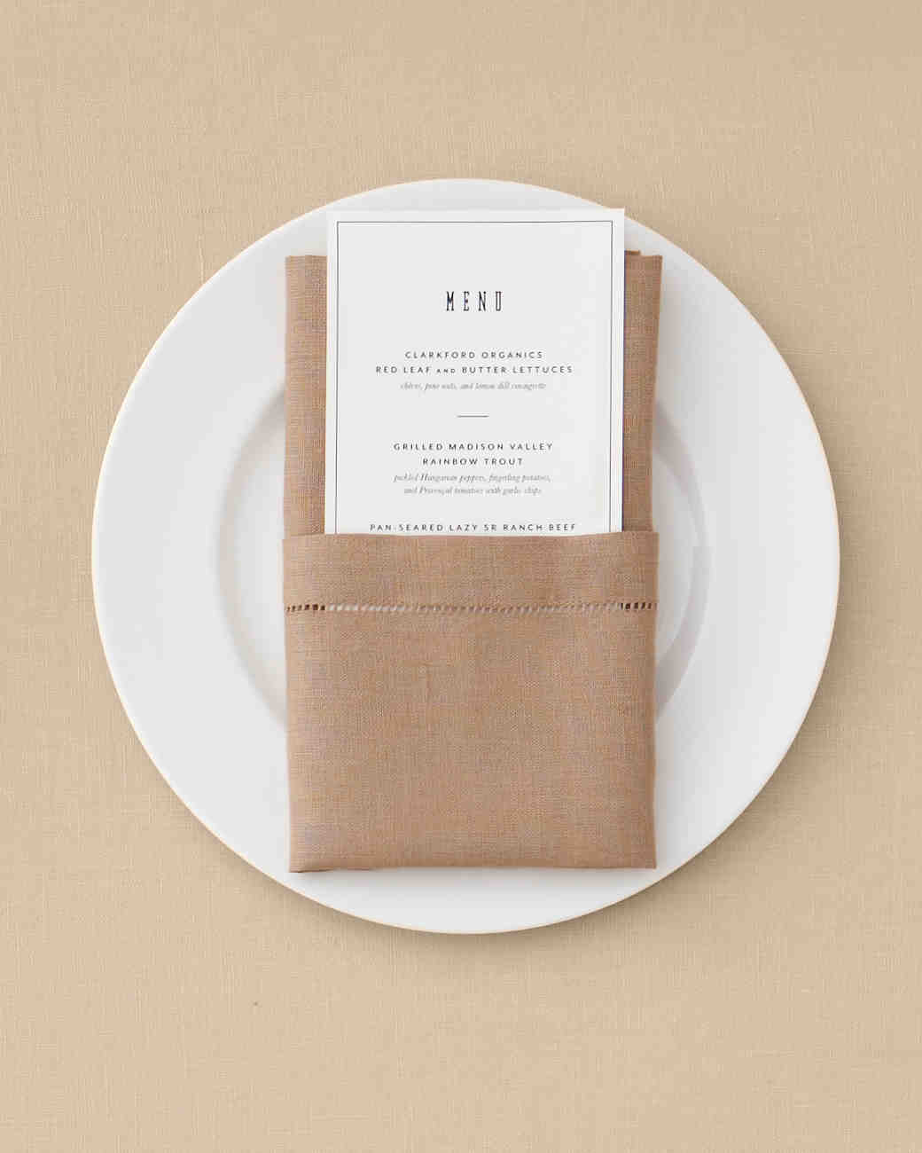 7 Ways to Fold a Table Napkin for Your Big Day and Every Day ...