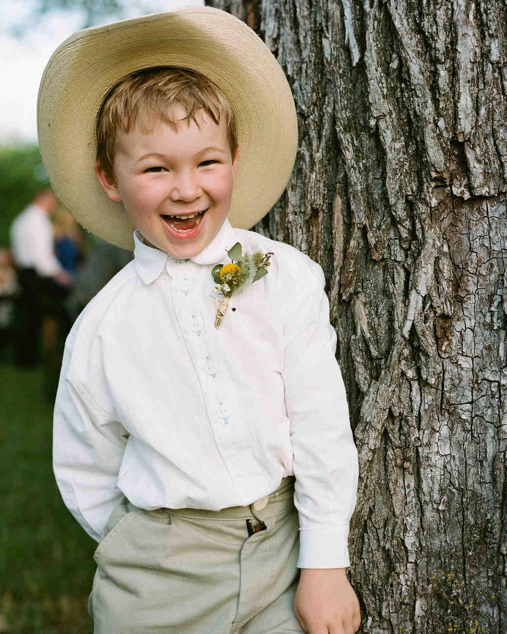 A Casual Outdoor Wedding on a Farm in Texas | Martha Stewart Weddings