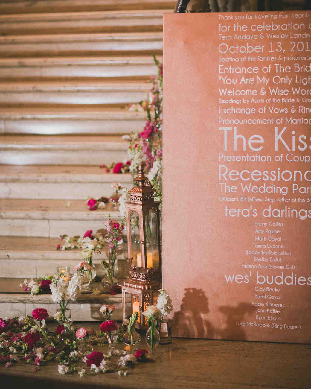 A Modern, Romantic Pink-and-Gray Destination Wedding in San Diego ...