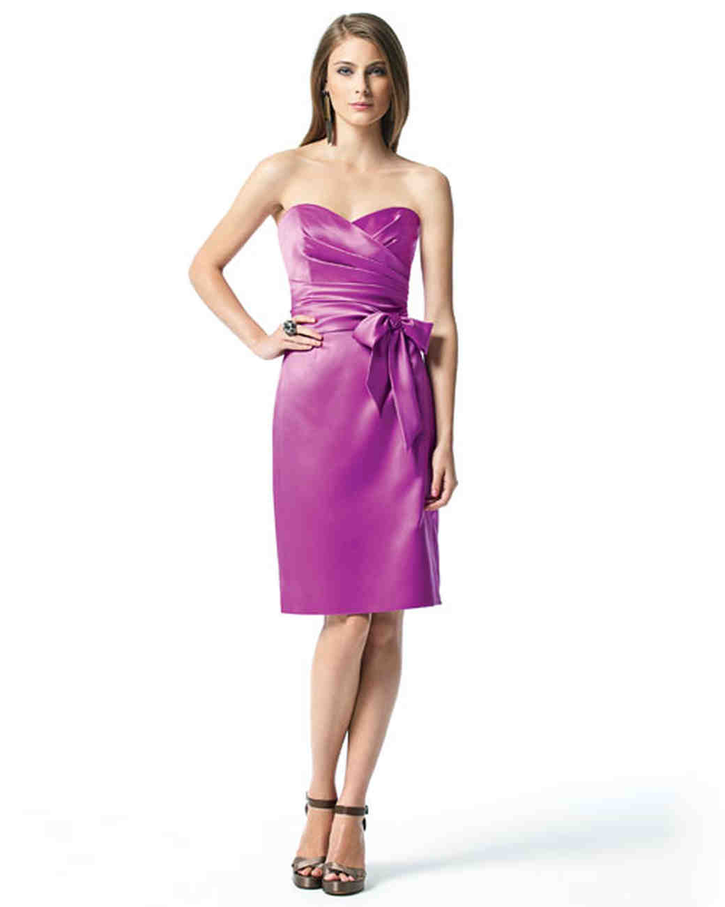 Contemporary Amethyst Bridesmaid Dresses Component - Colorful ...
