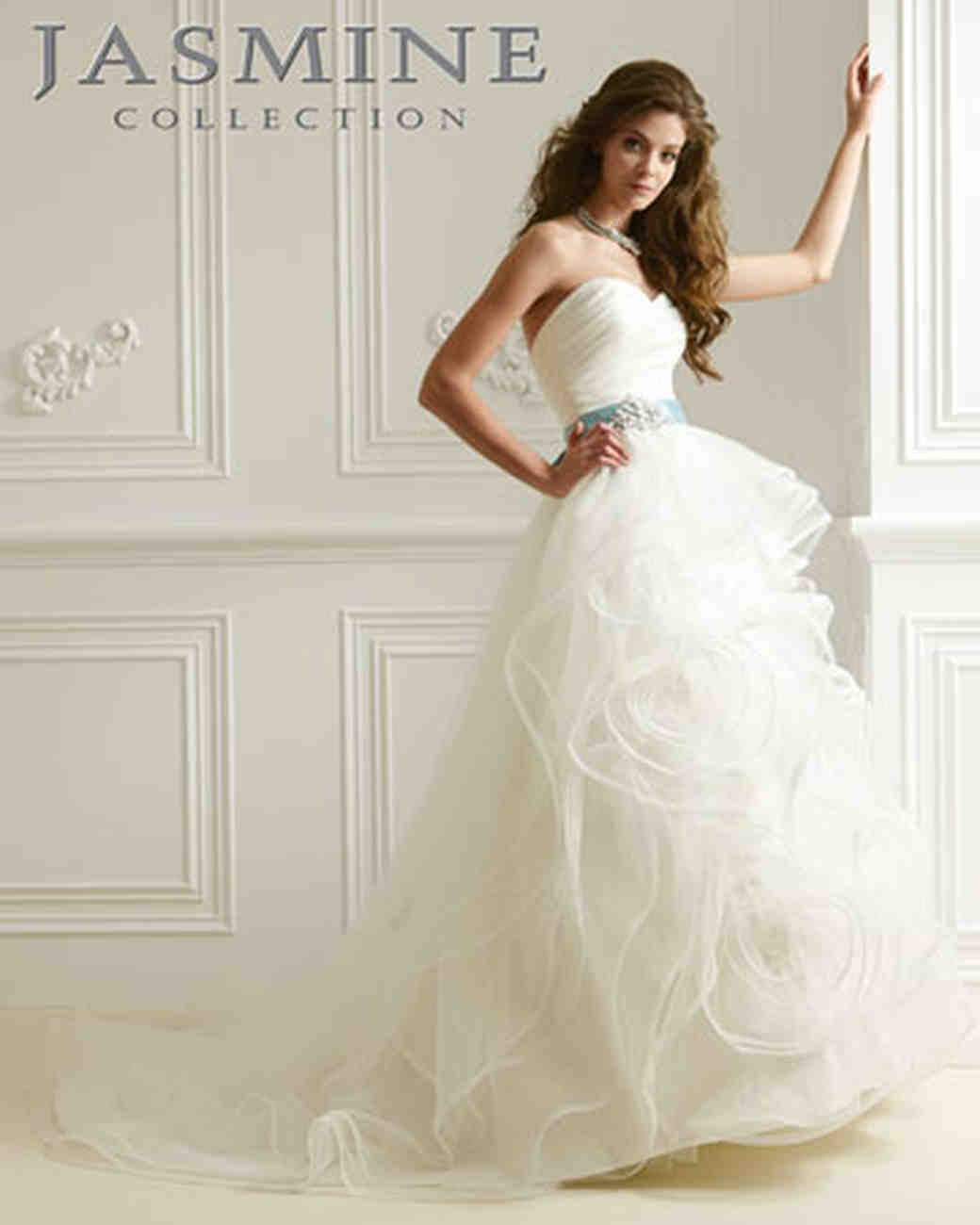 9c8705fc22e29 Jasmine Collection, Spring 2012 Collection | Martha Stewart Weddings