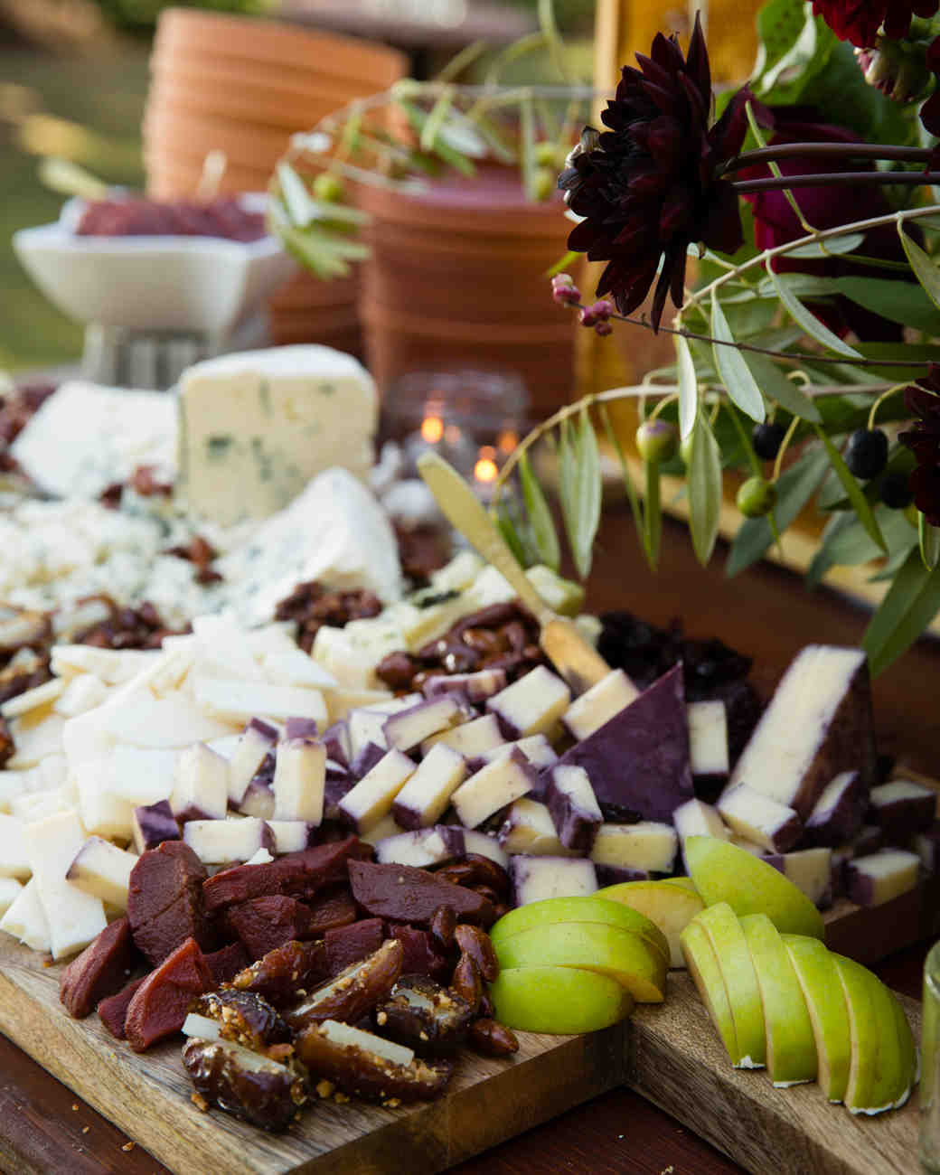 6 steps for curating a delicious display of cheese and charcuterie martha stewart weddings