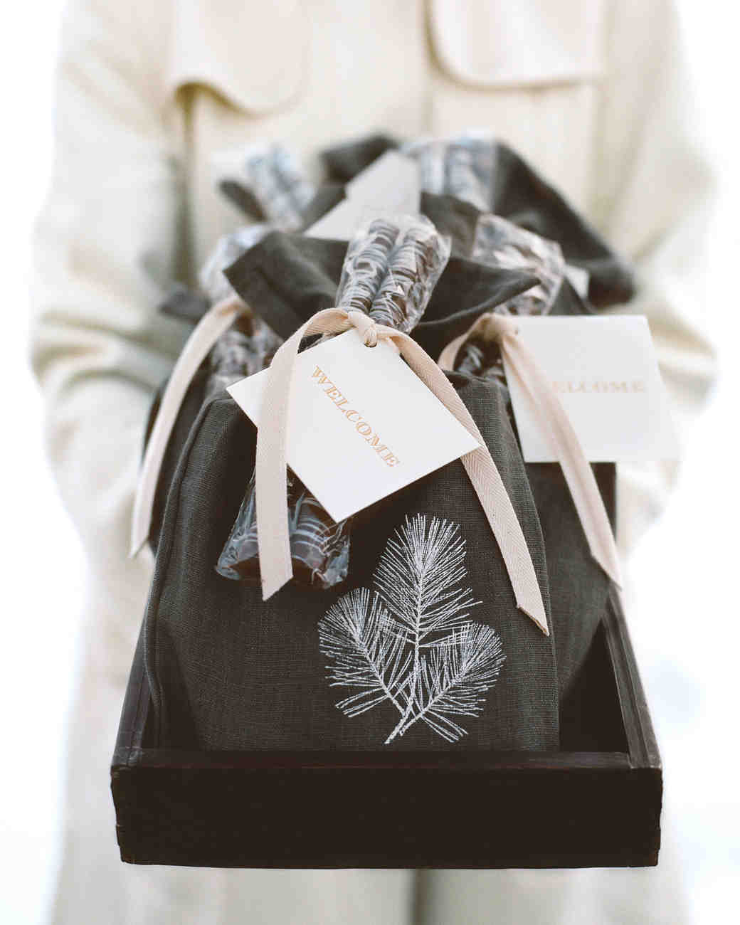 46 Welcome Bags From Real Weddings Martha Stewart Weddings