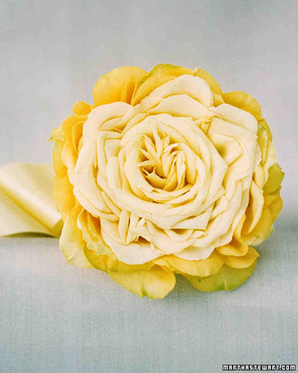 Wedding Flowers Yellow Roses: Martha Stewart Weddings