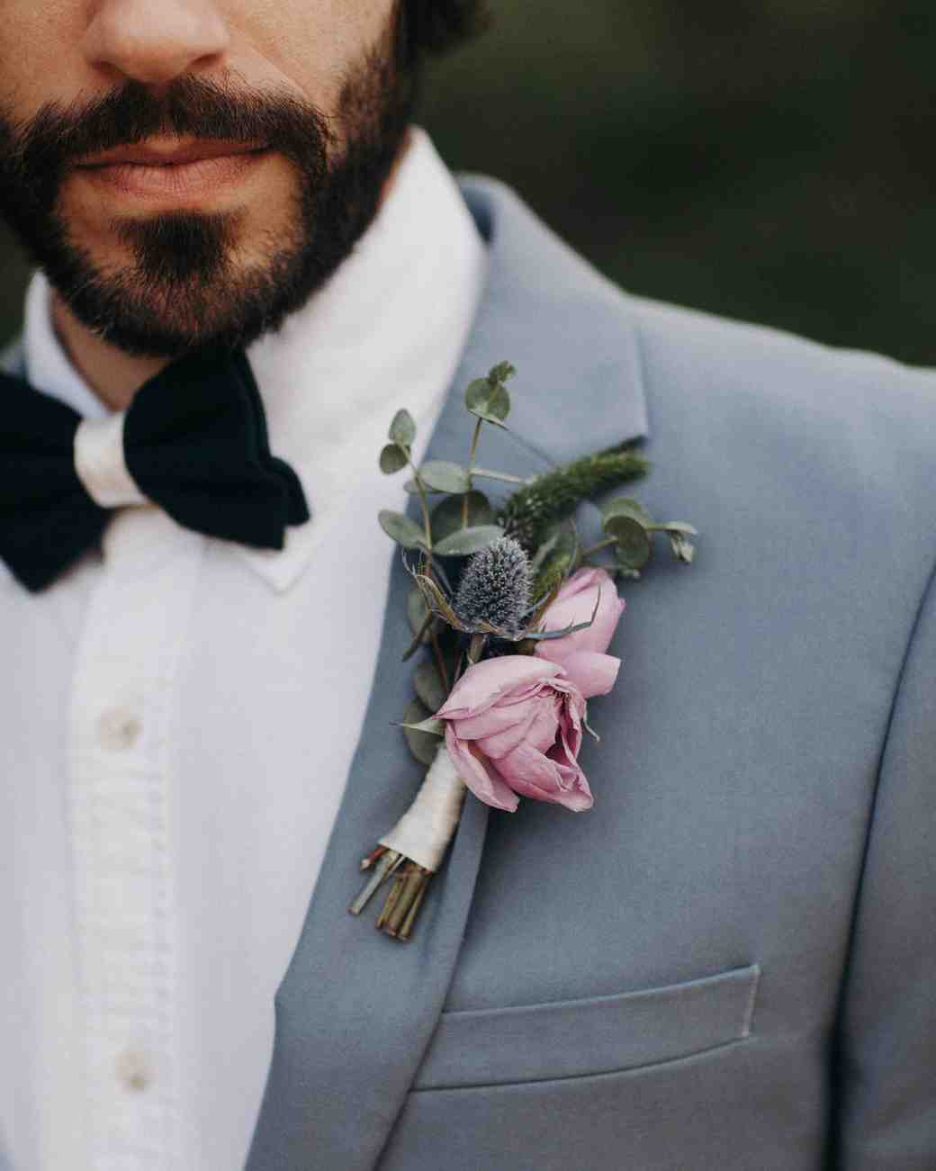 b85a9eb0932b 64 Boutonnières You Both Will Love | Martha Stewart Weddings