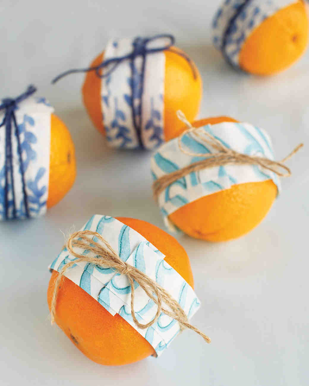 Gift-Wrapped Oranges