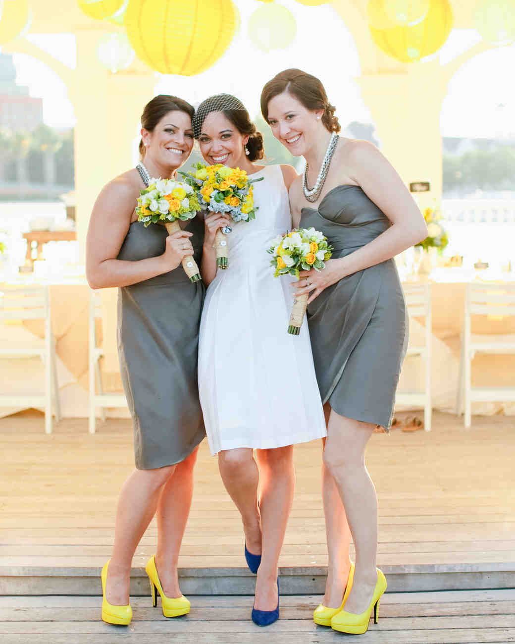 Fun Poppy Bridesmaid Dresses