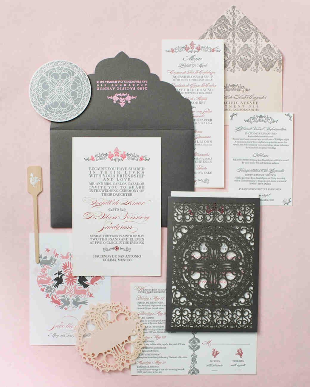 Great Martha Stewart Wedding Invitations Wedding Ideas