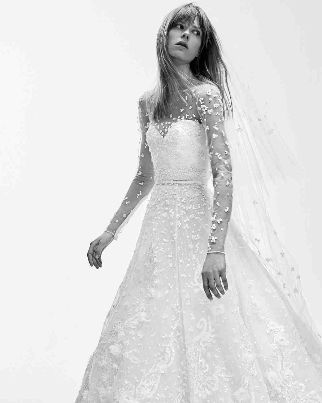 Elie saab spring 2017 wedding dress collection martha stewart weddings photography courtesy of elie saab junglespirit