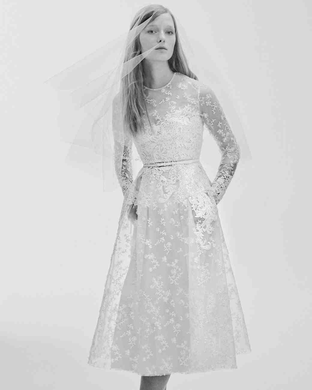 Elie Saab Spring 2017 Wedding Dress Collection | Martha Stewart ...