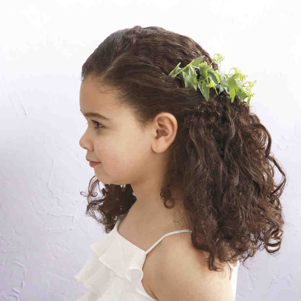 flower girl ideas | martha stewart weddings