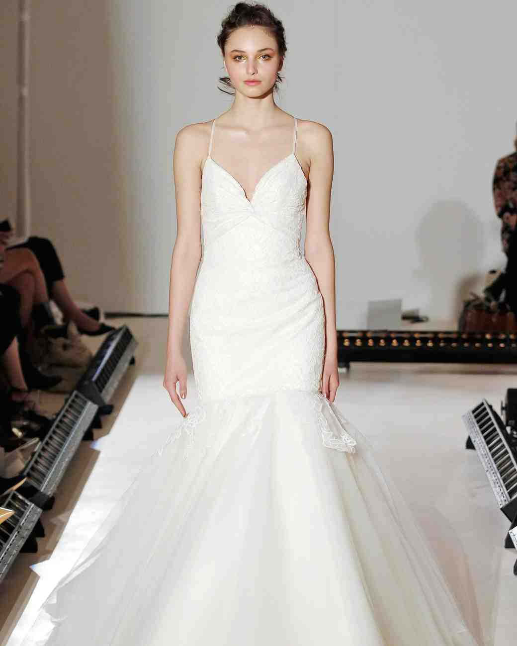 Jim Hjelm Fit-and-Flare Gown