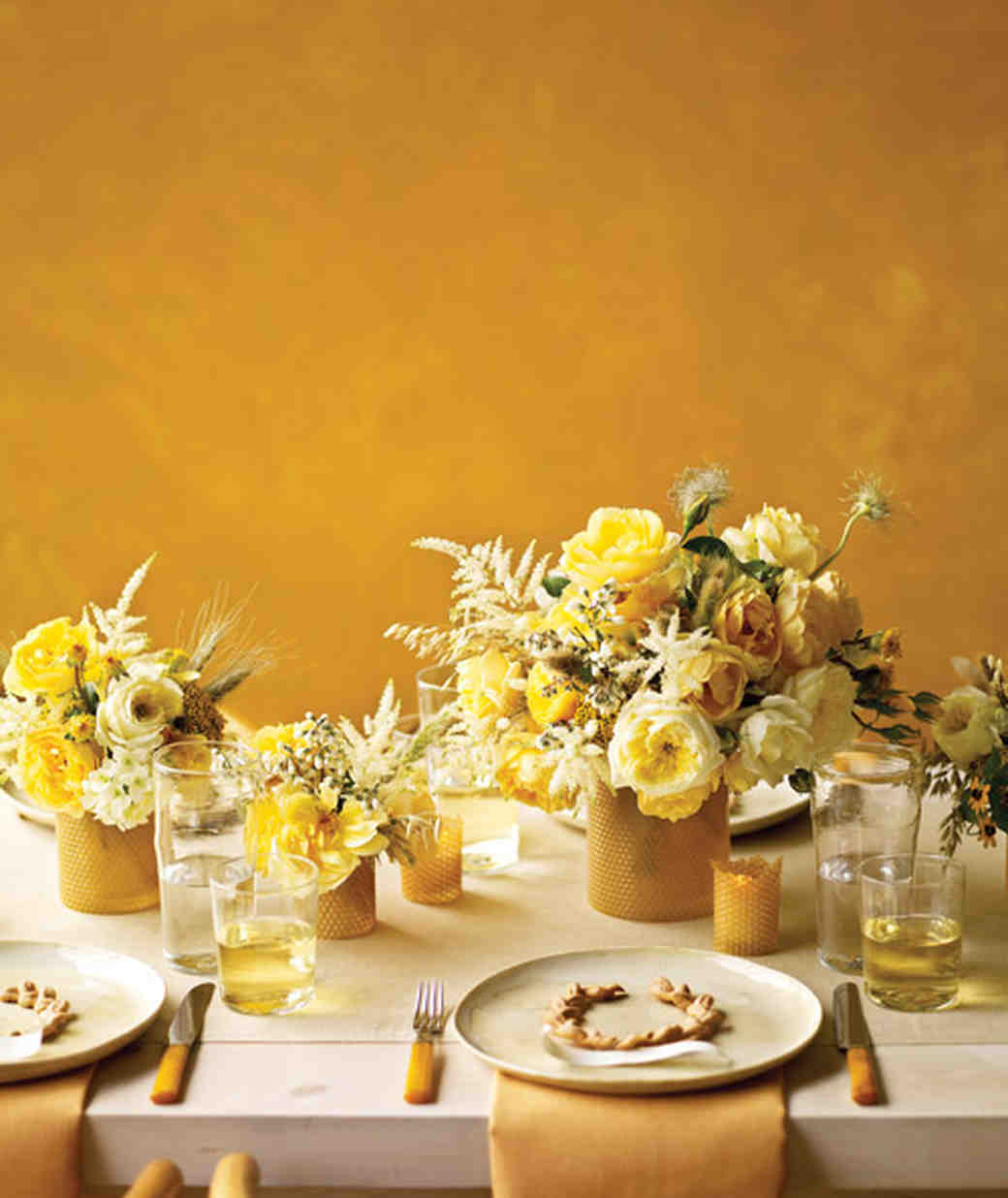 : country wedding table settings - pezcame.com
